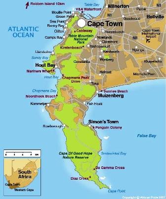 Kapstaden Guide